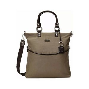 Ellington Mia Olive Folding Tote Bag